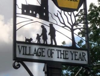 Mid Suffolk Village of the Year Award
