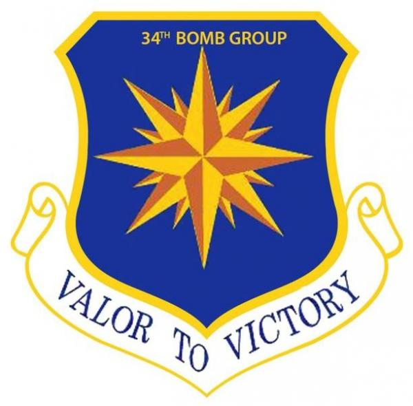 USAAF 34 bomb group logo full size